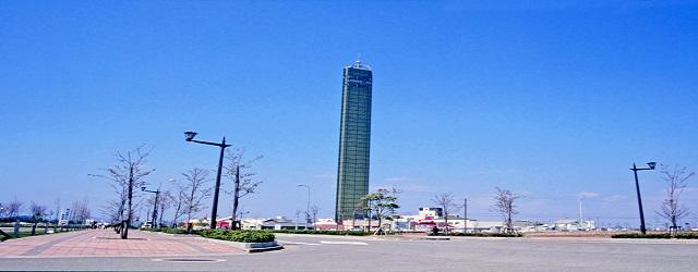 宇多津町ゴールドタワー