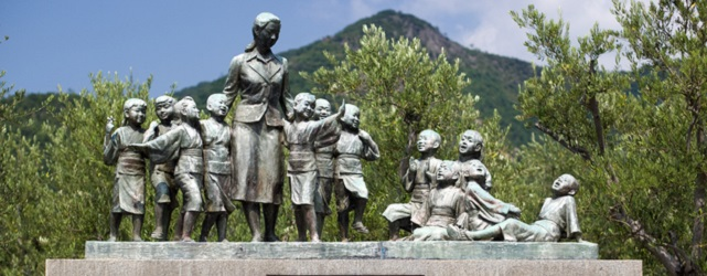 土庄町平和の群像