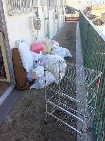 多度津大掃除不用品回収前